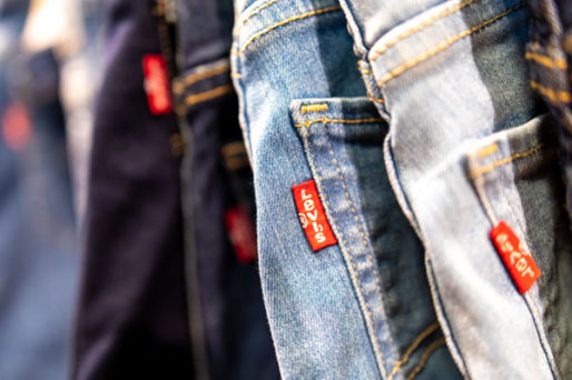 Levi's outlet at One Nation Paris